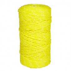 Feeder Cord 6mm Yellow 200 Metres